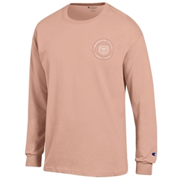 Champion Peach Mo State Bears in Circle Long Sleeve