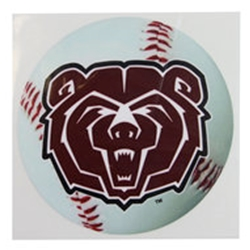 Missouri State Baseball Bear Head Decal