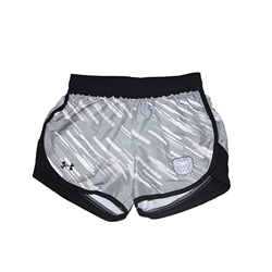 Under Armour Youth Girls Bear Head Black/Gray Shorts