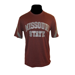 Champion Missouri State Striped Sleeve SS Tee