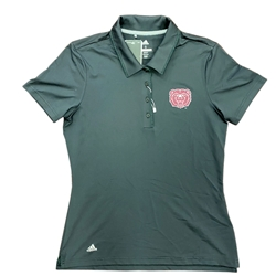 Adidas Ladies Bear Head Black Polo