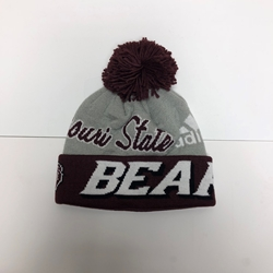 Adidas Stocking Hat with Missouri State BH Bears