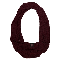 Adidas Ladies Infinity Scarf with Bear Head