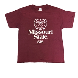 Missouri State Sis Maroon Youth and Adult Short Sleeve Tee