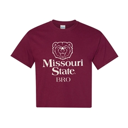 Missouri State Bro Maroon Youth and Adult Short Sleeve Tee